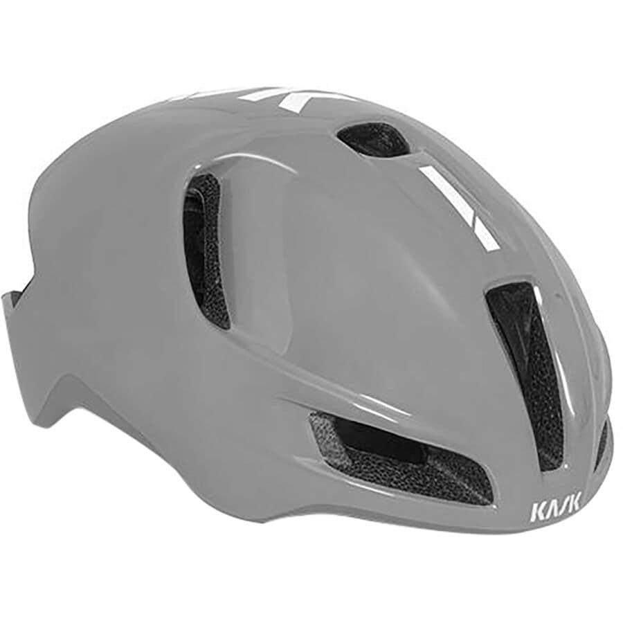 Kask UTOPIA Aero Road Cycling Helmet BLACK//WHITE