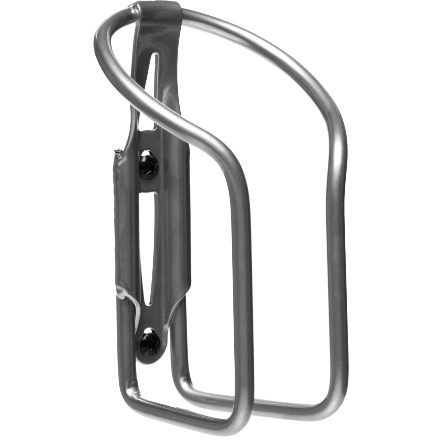 Lezyne Aluminum Power Bottle Cage-Black-Cycling-Bicycle Water Bottle Cage
