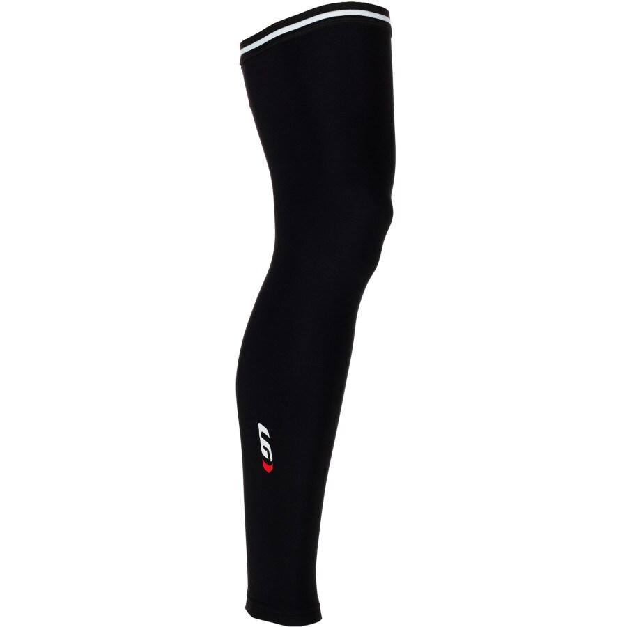 Louis Garneau Adult Zip Leg Warmers 2 Black Large