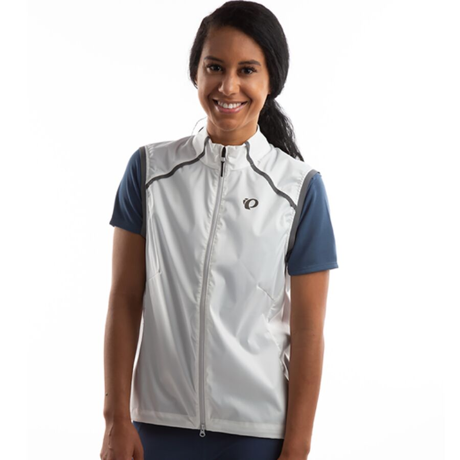 XL PEARL IZUMI Womens Zephrr Barrier Vest White//Turbulence