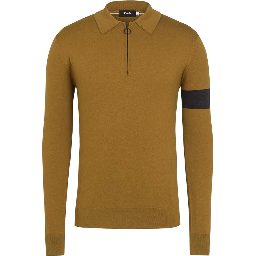 Rapha Merino Long-Sleeve Polo - Men s  d44952c13