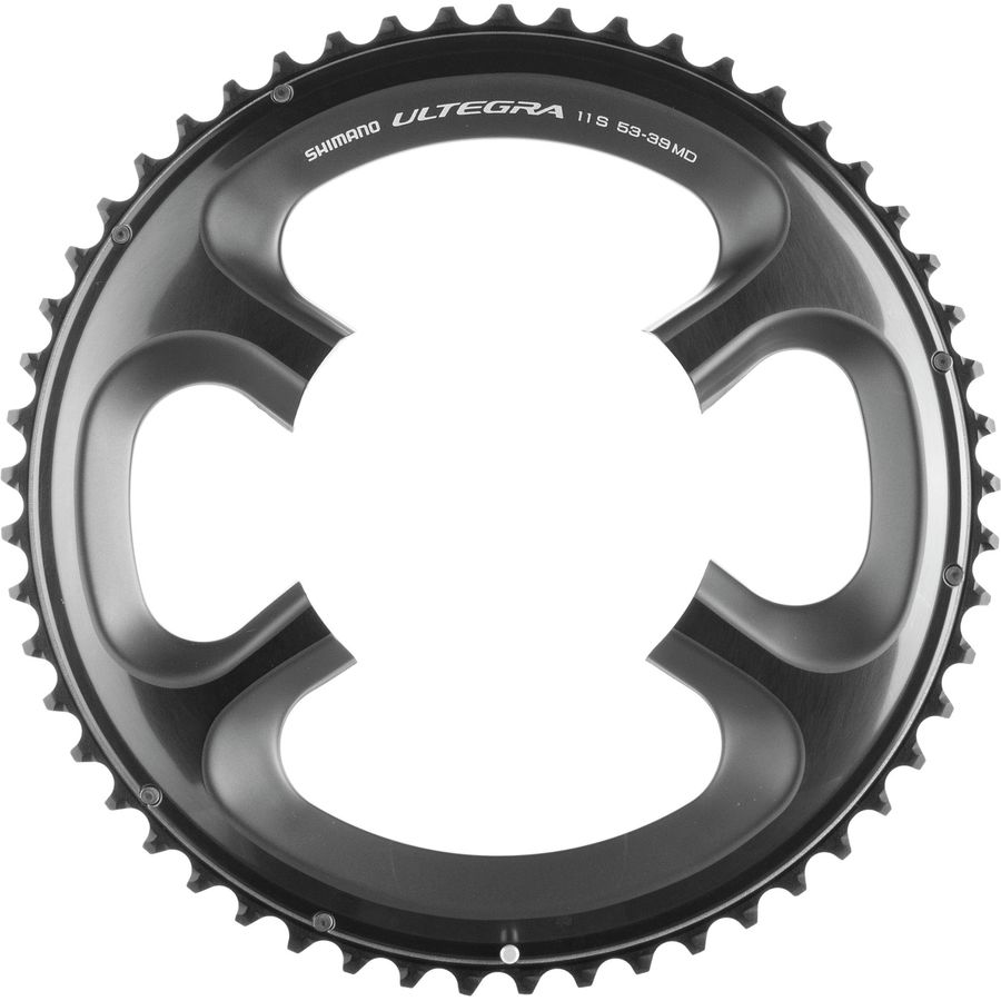 50T Shimano Ultegra FC-R8000 11 Speed Outer Chainring Black