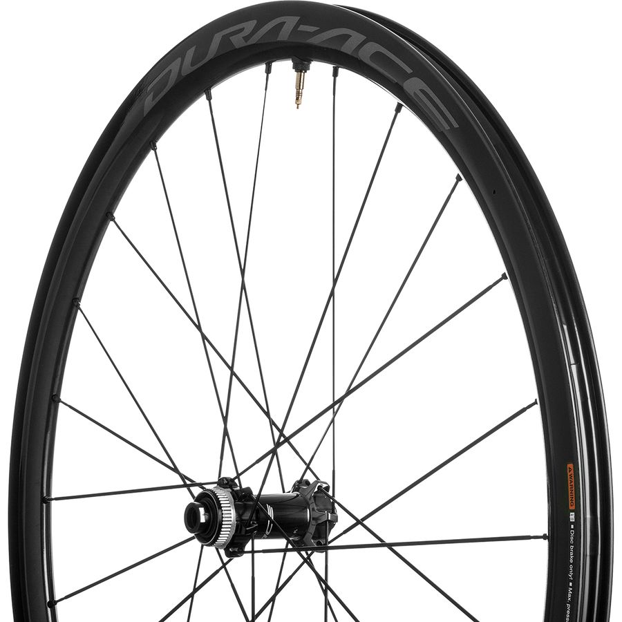 a3286dd3f87 Shimano Dura-Ace 9170 C40 Carbon Disc Brake Road Wheelset - Tubeless ...