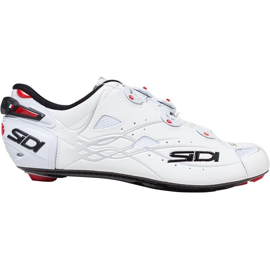 SIDI SHOT Road Cycling Shoes Size: 40~47 EUR Matt White//Light Blue