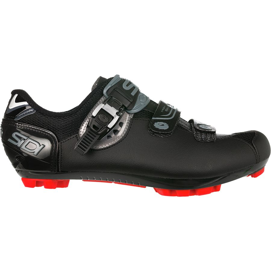 Wide Sizes Black Sidi Men/'s Dominator 7 Mega MTB Mountain Biking Shoes