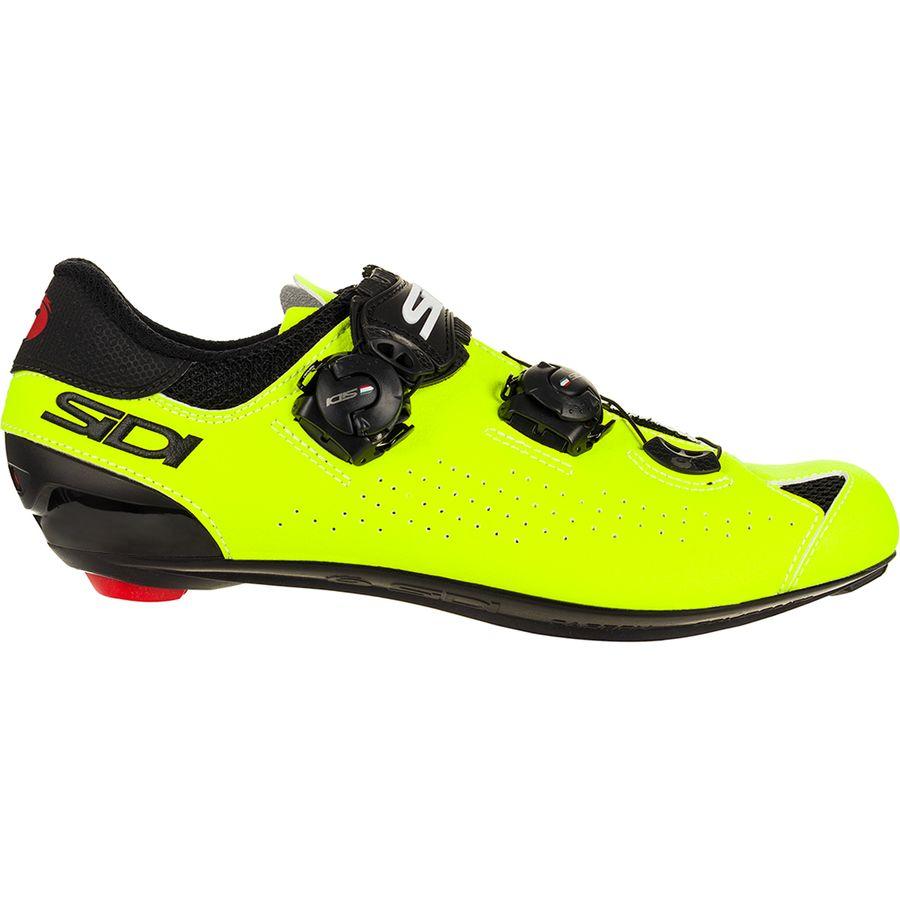 10 US Sidi Genius 10 X Road Cycling Bicycle Shoes Black//Grey Size 44.5 EU