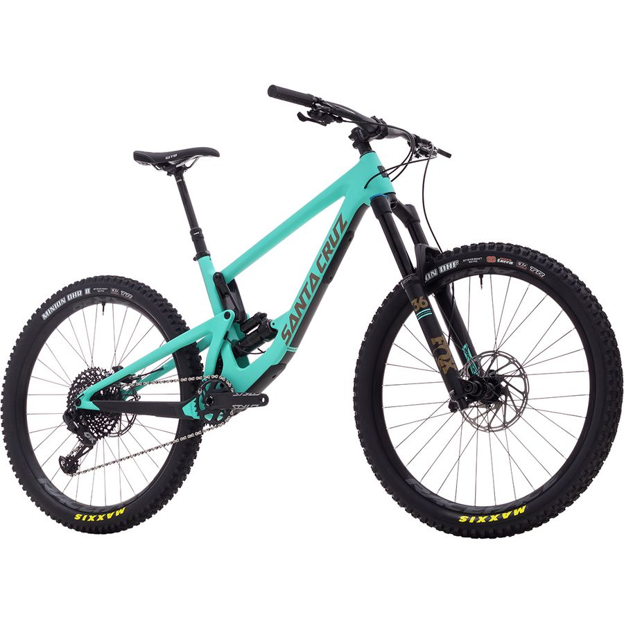 2e246d647f4 Santa Cruz Bicycles Carbon 27.5 S Complete Mountain Bike ...