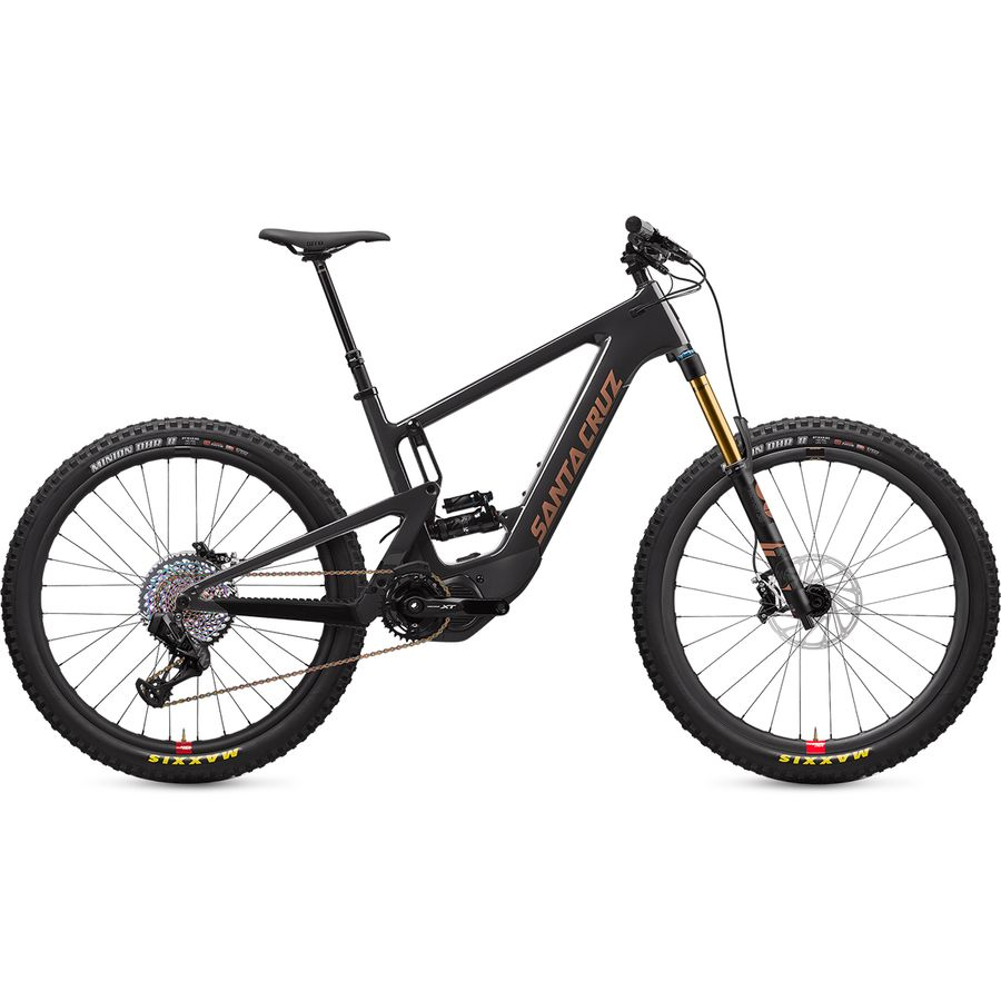 best full-suspension electric mountain bike by santa cruz bicycles