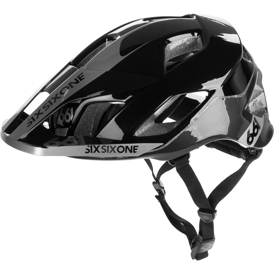CLOSEOUT GRAY - 661 SixSixOne Evo Am Tres MTB Bicycle Helmet w//MIPS /_7162-08
