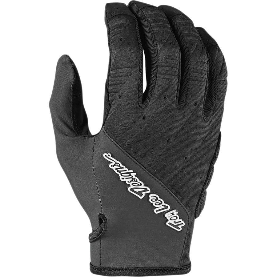 Red Troy Lee Ruckus Full Finger Gloves