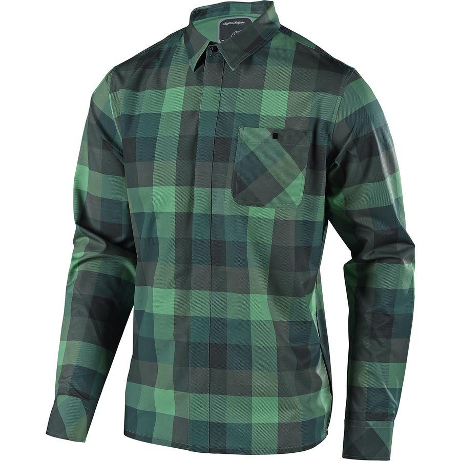 57b3c99ff70 Troy Lee Designs Grind Flannel Long-Sleeve Jersey - Men s ...