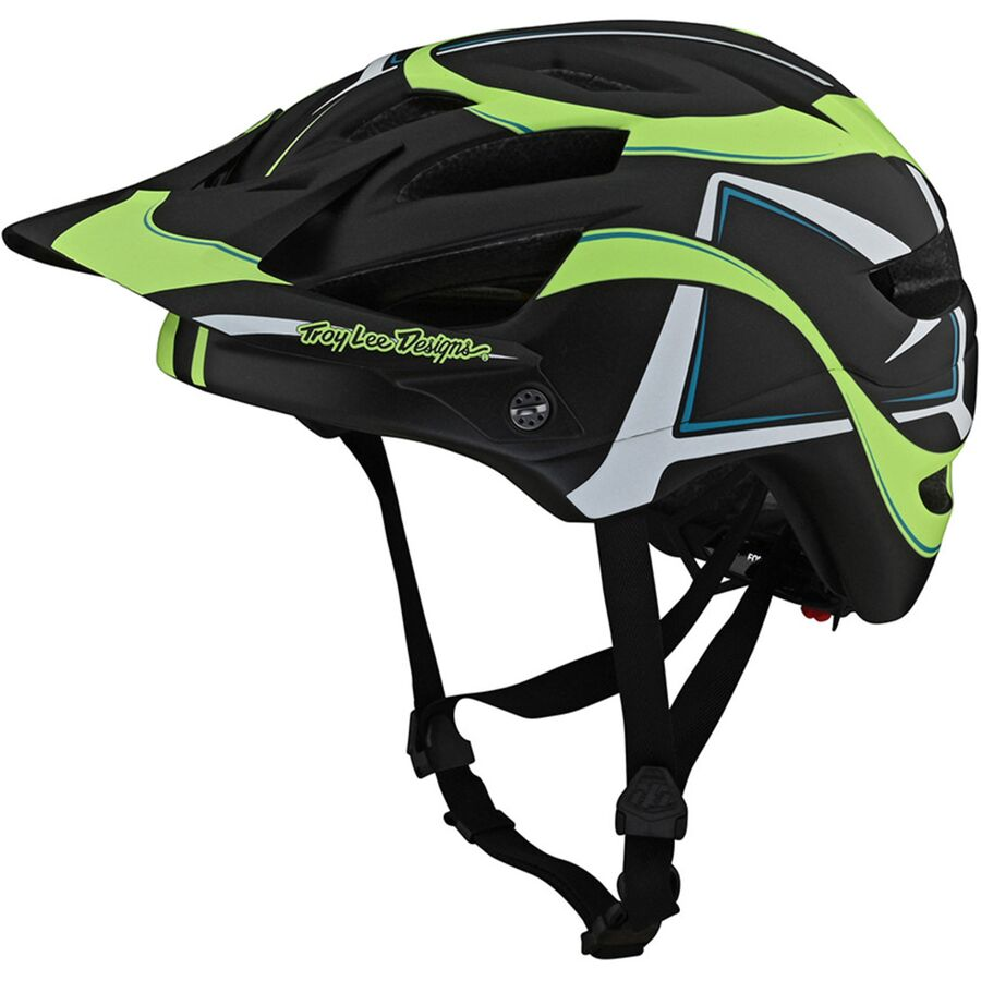 Troy Lee Designs Youth A1 Helmet Universal youth Black//Silver