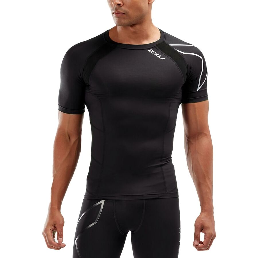 ad884c200774d 2XU Compression Top - Short-Sleeve - Men's | Competitive Cyclist