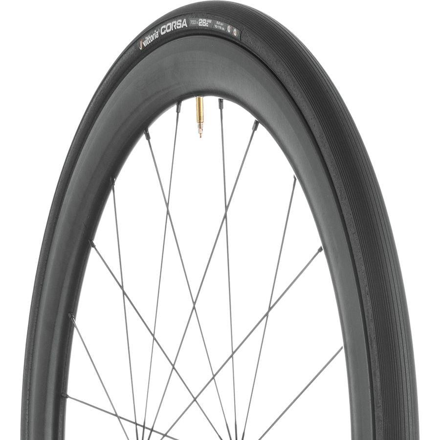Vittoria Corsa Control G Plus Tire Clincher Black//Black 700c x 28mm