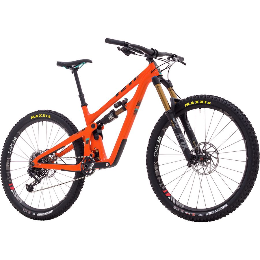 6104a0a1d52 Yeti Cycles SB150 Turq X01 Eagle Race Complete Mountain Bike ...