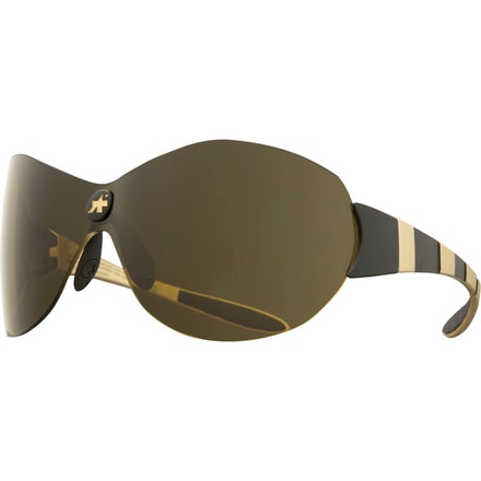 Assos Zegho eXploit Sunglasses with Gold Lens
