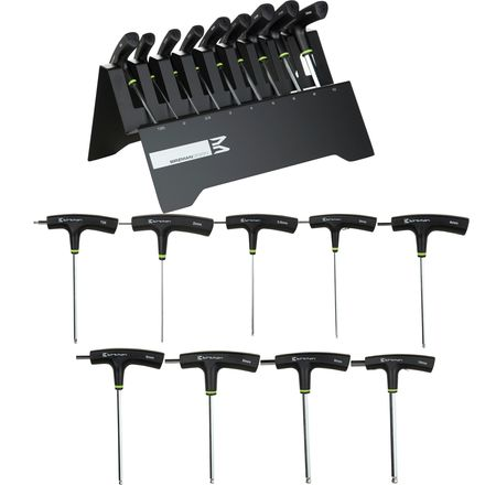 Birzman T-Bar Hex Wrench Set w/ Stand