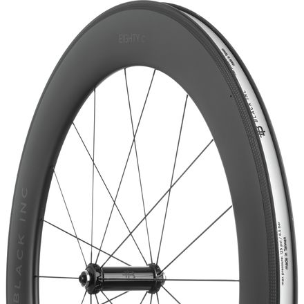 Black Inc Eighty Carbon Road Wheelset - Clincher