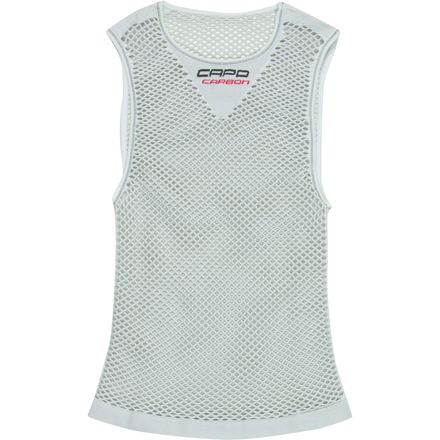 Capo Torino Carbon Sleeveless Base Layer - Men's