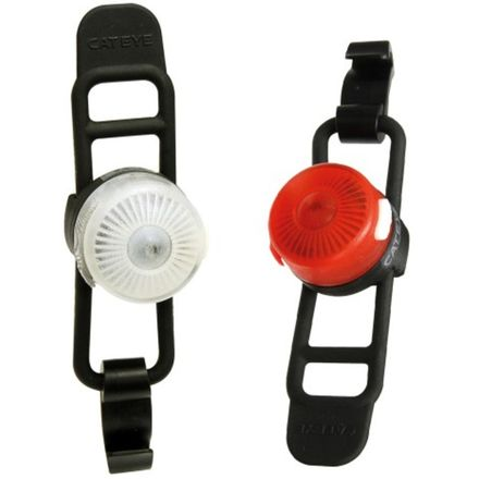 CatEye Loop 2 Rechargeable Front and Rear Light Combo