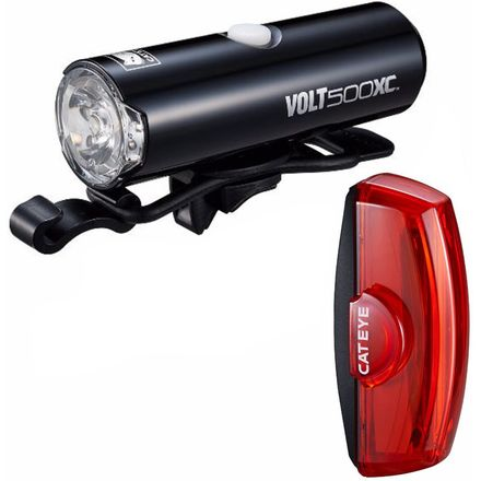 CatEye Volt 500 XC and Rapid X2 Light Combo