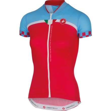Castelli Duello Jersey - Short Sleeve - Women's