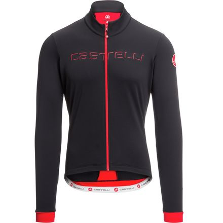 Castelli Fondo Full-Zip Long-Sleeve Jersey - Men's