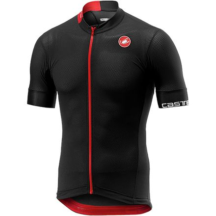 Castelli Aero Race 4.1 Solid Full-Zip Jersey - Men's