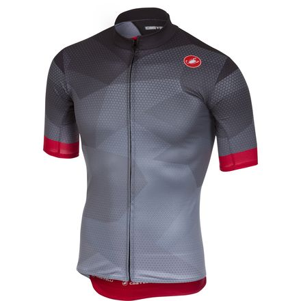 Castelli Flusso Full-Zip Jersey - Men's