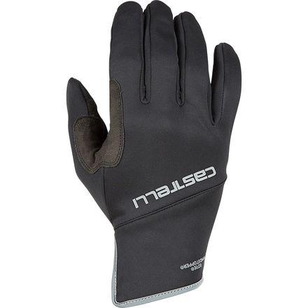XL Black Brand New Castelli Scalda Winter Gloves Size Extra Large