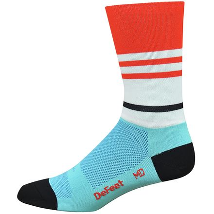 DeFeet Aireator Vintage Jersey 6in Sock