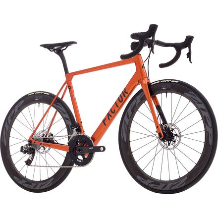 Factor Bike O2 Disc SRAM Red eTap HRD Complete Road Bike - 2018