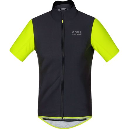 Gore Bike Wear Power WindStopper Softshell Jersey - Short-Sleeve - Men's