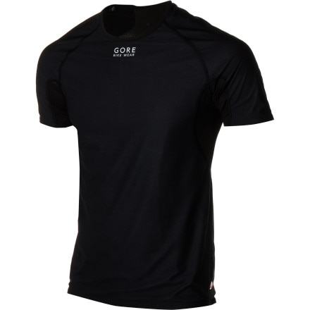 Gore Bike Wear Baselayer Windstopper Short-Sleeve Shirt - Men's