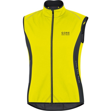 Gore Bike Wear Power Windstopper Softshell Thermo Vest - Men's