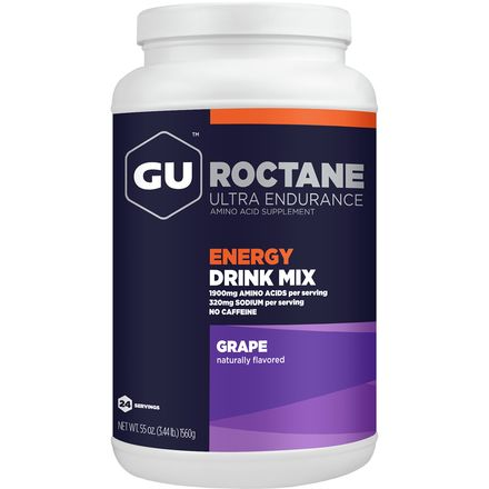GU Roctane Energy Drink - 24 Serving Canister