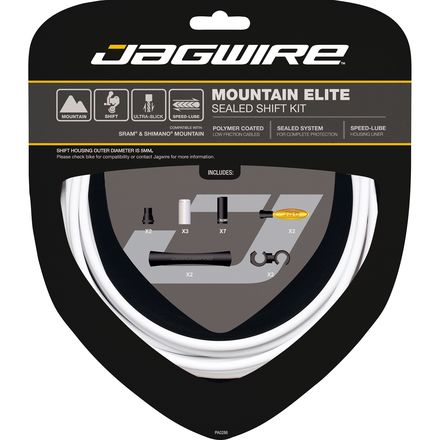 Mountain Elite Sealed Shift Cable Kit Jagwire