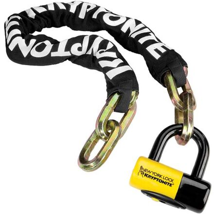 Kryptonite New York Fahgettaboudit Chain 1410 and NY Disc Lock