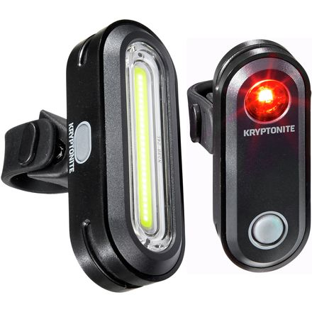 Kryptonite Avenue F-100 and Avenue R-50 COB Light Combo