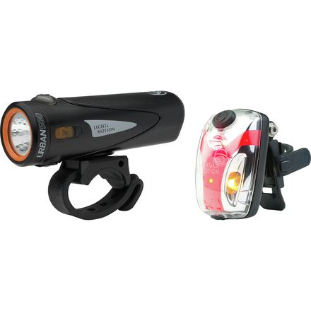 Light & Motion Combo Urban 500 Onyx + Vis 180 Micro