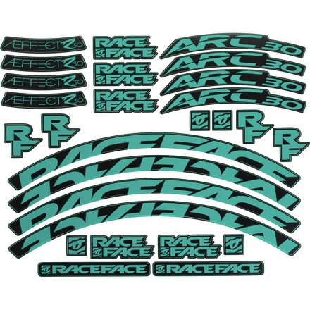 Race Face Aeffect-R Decal - OE