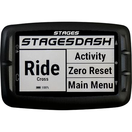 Stages Cycling Dash GPS Bike Computer