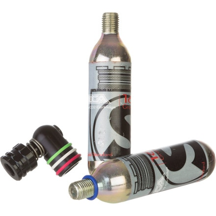 EOLO III - CO2 Regulator With 16gm Cartridges Silca