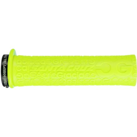 Santa Cruz Bicycles Cedric Gracia Signature Lock-On Grip