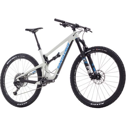Santa Cruz Bicycles Hightower Carbon CC 29 X01 Eagle Complete Mountain Bike - 2018