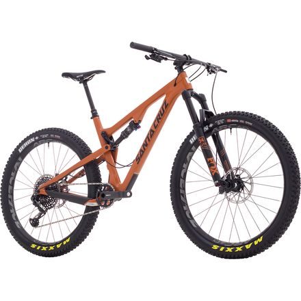 Santa Cruz Bicycles Tallboy Carbon CC 27.5+ X01 Eagle Complete Mountain Bike - 2018