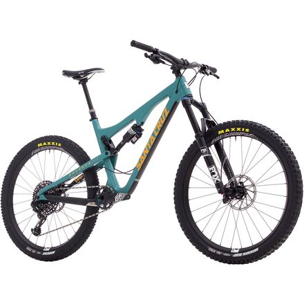 Santa Cruz Bicycles Bronson Carbon CC GX Eagle Complete Mountain Bike - 2017