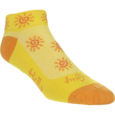 SockGuy Sunshine 1in Sock - Women's