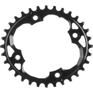 Absolute Black SRAM Oval Traction Chainring