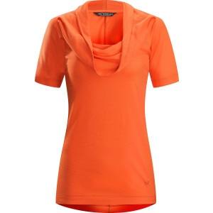 Arc'teryx A2B Cowl Neck Shirt - Short-Sleeve - Women's